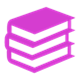 Pile of books icon